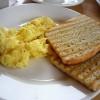 Kajgana na pecenom hlebu