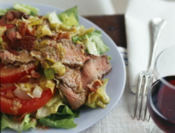 salata sa junetinom i prazilukom