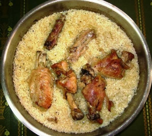 Pilav od piletine i rize