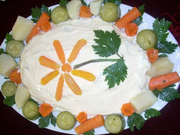 Posna ruska salata