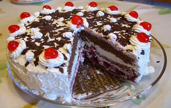 Posna svarcvald torta bez jaja