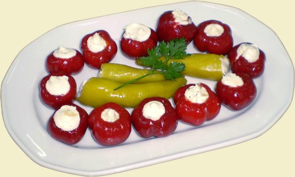 Punjene paprike sa sirom