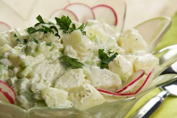 Recept za posnu krompir salatu