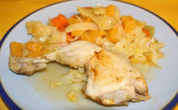 Varivo od kupusa i piletine