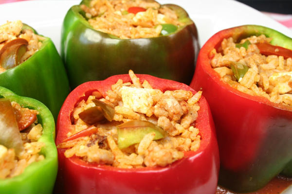 punjene paprike veganske