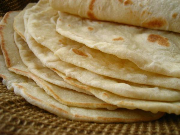 tortilje recept